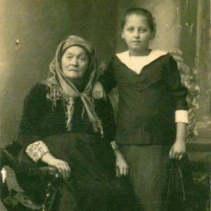 וזה הסבתא ודודה מרים - רוז ... היקב בדור הרביעי במשפחה