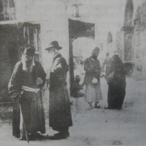 הרובע המוסלמי בירושלים - הכניסה ליקב בצד ימין 1874